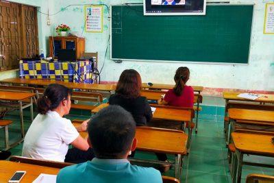 Tập huấn thay sách giáo khoa lớp 2 theo hình thức trực tuyến